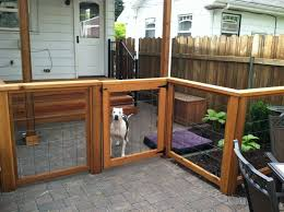 Patio Fence Ideas Patio Fencing For Dogs U2013 Outdoor Ideas