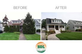 before and after by design landscapes
