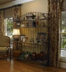 Decorating A Bakers Rack Ideas Boston Bakers Rack For Dining Room Traditional With Wood Hutch