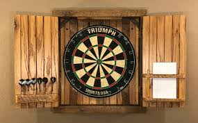 Made To Order Cabinets Natural Barnwood Dartboard Cabinet Made To Order