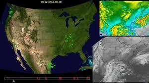 Usa Weather Map 2012 Us Weather Animation Youtube