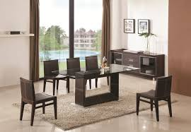 Stunning Glass Dining Room Sets Contemporary Interior Design - Contemporary glass dining room furniture