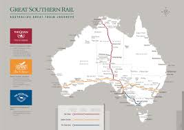 United International Route Map by Australia Train Tickets Australia Rail Passes International Rail