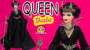 queen dark forest gold label collection collectors barbie