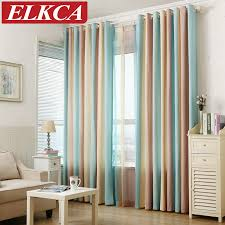 striped bedroom curtains striped printed window curtains for the bedroom fancy children