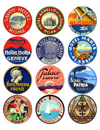 travel stickers images 12x vintage travel stickers italy mix vintralab jpg