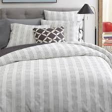 Gray White Duvet Cover 166 Best Stripes Images On Pinterest Coastal Bedrooms West Elm