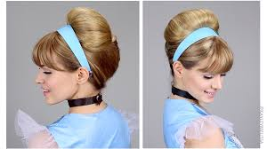 how to make bridal hairstyle easy cinderella updo for halloween youtube