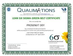 Six Sigma Black Belt Resume Examples by Qualimations Six Sigma Yellow Belt Sixsigma Job Six