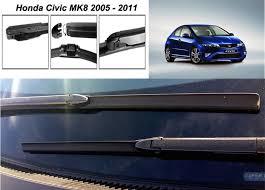 honda civic wipers honda civic 2005 2011 front windscreen wiper blades 28 23 ebay