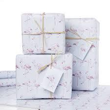 pink gift wrap pink flamingo gift wrap by davey notonthehighstreet