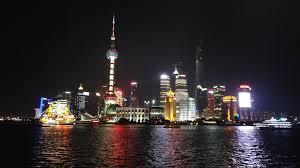 shanghai night bund pudong nanjing road youtube