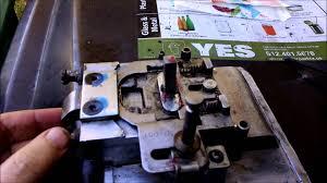 rv door glass rv door latch repair bluebird wanderlodge youtube