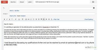 cover letter email cover letter in email or attachment tomlaverty net