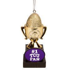 forever collectibles tcu horned frogs ncaa ornaments ebay