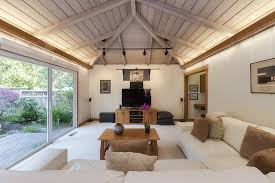 lighting a space with a vaulted ceiling u2014 light my nest