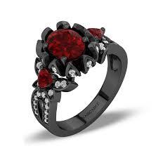 black wedding ring vancaro black ring black engagement ring black wedding ring
