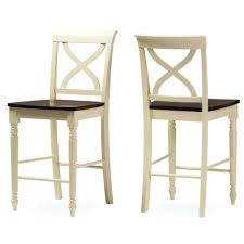 bar stools baxton studio ashton modern country cottage