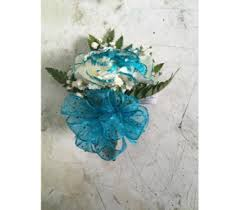 Teal Corsage Prom Corsages U0026 Boutonnieres Delivery Sydney Ns Mackillop U0027s Flowers