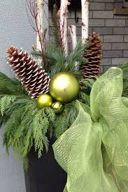 Outdoor Christmas Decorations Toronto by 48 Best Christmas Urns Images On Pinterest Christmas Urns