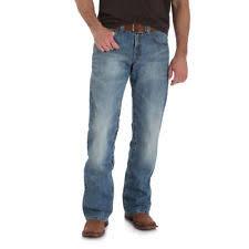 wrangler low rise boot cut jeans for men ebay