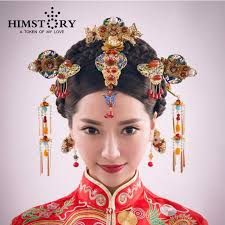 retro hair accessories homstory retro traditional wedding hair jewelry adorn
