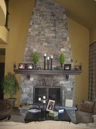 custom stone fireplaces custom stone fireplaces rock