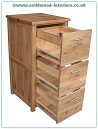 solid oak filing cabinet solid wood interiors solid oak filing cabinet with 3 drawers