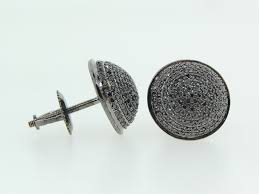 black diamond earrings for men diamond stud earrings for men hd real black diamond earrings for