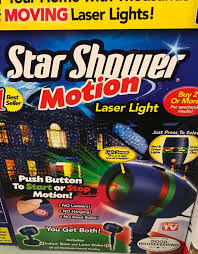 motion laser light projector star shower motion laser light w base stake christmas party new