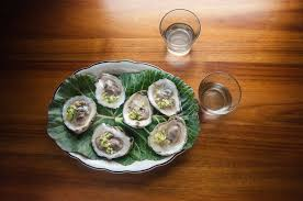 mignonette cuisine oysters with cucumber mignonette