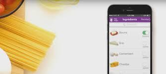 cuisiner avec rien dans le frigo frigo magic l application qui vous propose des recettes avec les