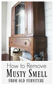 how to remove musty smell from old furniture three ingredient
