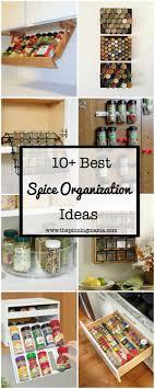 kitchen spice organization ideas best 25 spice cabinet organize ideas on small kitchen