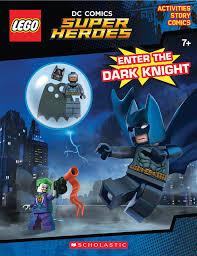 amazon com enter the dark knight lego dc comics super heroes