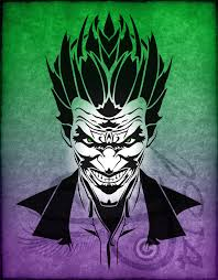 tribal the joker v1 by amoebafire on deviantart