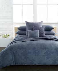 Bedding Collection Sets Closeout Calvin Klein Palisades Bedding Collection Blue Bedding