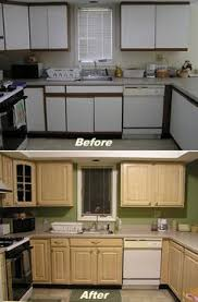 Replacing Kitchen Cabinet Doors Bathroom Update How To Paint Laminate Cabinets Shiplap