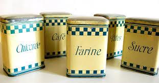 boite de cuisine ensemble boîtes de cuisine anciennes