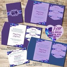 wedding invitation suites best 25 orchid wedding invitation suites ideas on purple