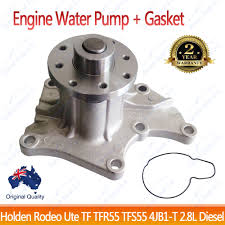 holden engine water pump rodeo tfr55 tfs55 tf 1990 2003 4jb1 t 2 8