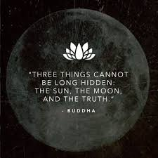 three things cannot be the sun the moon and the