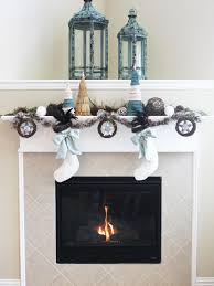 Home Temple Decoration by Blogger Challenge Hgtv Holiday House Fireplace Mantel Design Diy