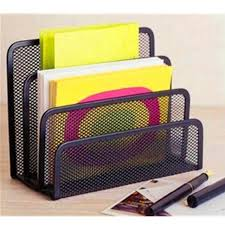 Upright Desk Organizer Black Office Barbed Wire 3 Upright Sections File Format Document