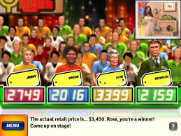 price is right game show powerpoint template free powerpoint game