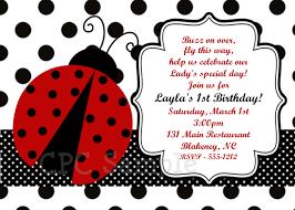 ladybug birthday invitations iidaemilia com