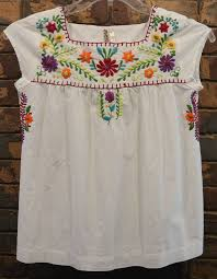 s blouse s med ethnic floral shirt embroidered hippie blouse