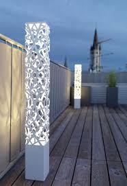Patio Floor Lights Best Modern Outdoor Floor Ls Ideas On Rustic Solar L