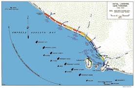 Cape Air Route Map by The Pacific War Online Encyclopedia Bougainville