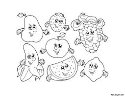 apple watermelon strawberry banana grape coloring pages jpg 1 650